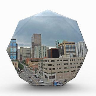 Horizonte céntrico de Denver Colorado