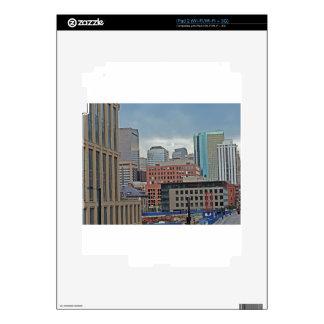 Horizonte céntrico de Denver Colorado iPad 2 Skin