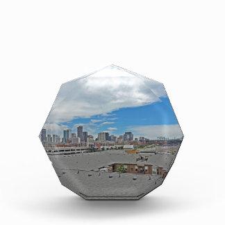 Horizonte céntrico de la ciudad de Denver Colorado
