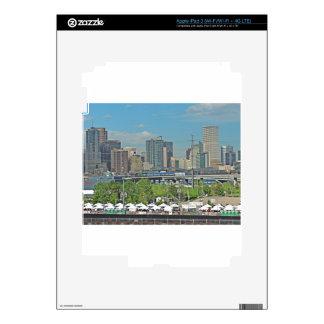 Horizonte céntrico de la ciudad de Denver Colorado iPad 3 Pegatina Skin