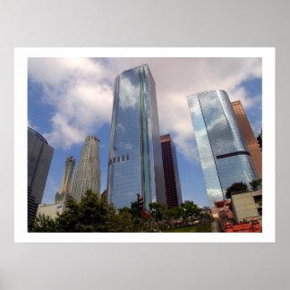 Horizonte céntrico de Los Ángeles Impresiones