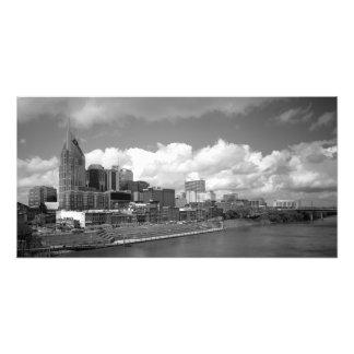Horizonte céntrico de Nashville Fotografía