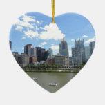 Horizonte céntrico de Pittsburgh Adornos