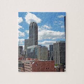 Horizonte céntrico de Pittsburgh Puzzles