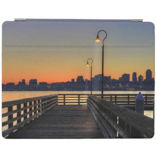 Horizonte céntrico de Seattle Washington Cubierta De iPad