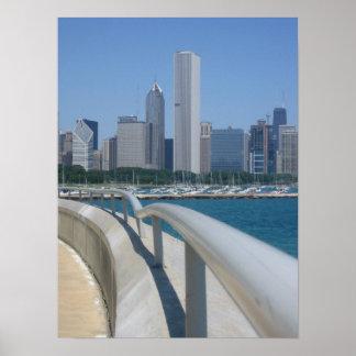 Horizonte, Chicago, IL Póster
