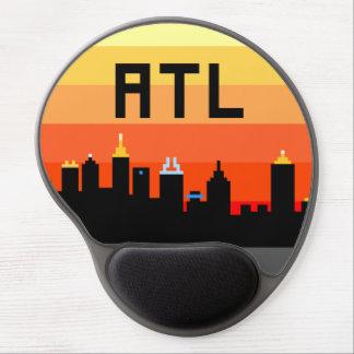 Horizonte de 8 bits ATL de Atlanta Alfombrilla Con Gel