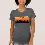 Horizonte de 8 bits ATL de Atlanta Remera
