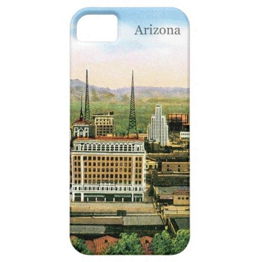Horizonte de Arizona del vintage iPhone 5 Carcasa