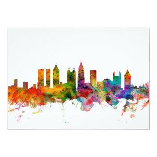Horizonte de Atlanta Georgia Invitación 12,7 X 17,8 Cm