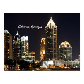 Horizonte de Atlanta, Georgia Tarjetas Postales