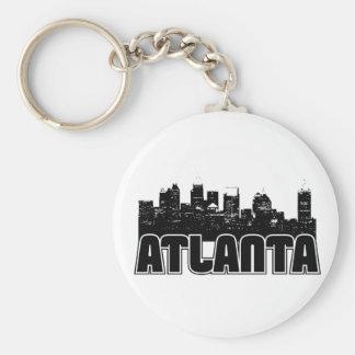 Horizonte de Atlanta Llavero Personalizado