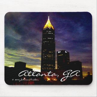 Horizonte de Atlanta Tapetes De Ratones