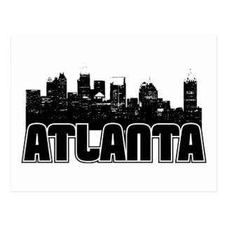 Horizonte de Atlanta Postales