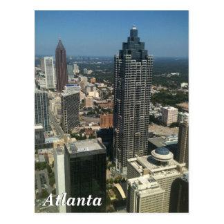 Horizonte de Atlanta Tarjeta Postal