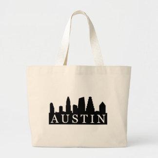 Horizonte de Austin Bolsa Tela Grande