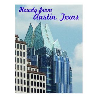 Horizonte de Austin Tarjeta Postal