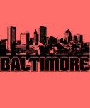 Horizonte de Baltimore Camisetas