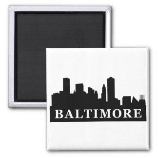 Horizonte de Baltimore Imán Cuadrado