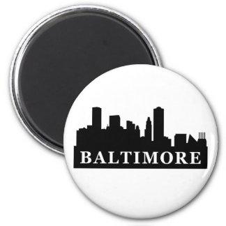 Horizonte de Baltimore Imán Redondo 5 Cm