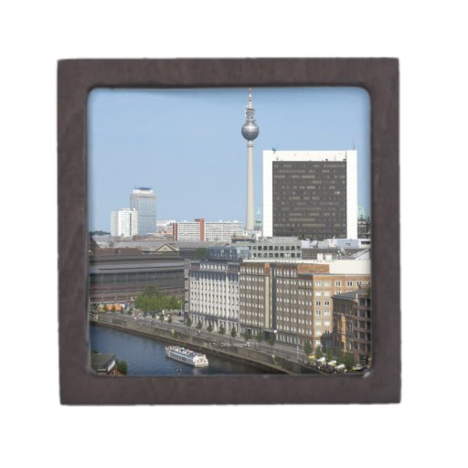 Horizonte de Berlín, Alemania Cajas De Regalo De Calidad