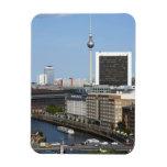 Horizonte de Berlín, Alemania Imán Flexible