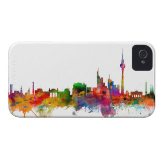 Horizonte de Berlín Alemania iPhone 4 Case-Mate Funda