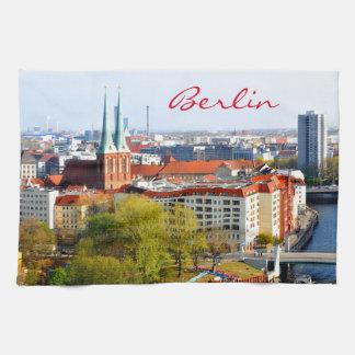 Horizonte de Berlín (Alemania) Toalla