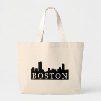 Horizonte de Boston Bolsa Tela Grande