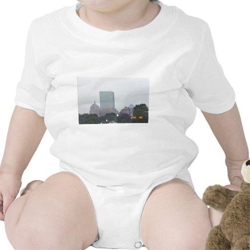 Horizonte de Boston Camisetas