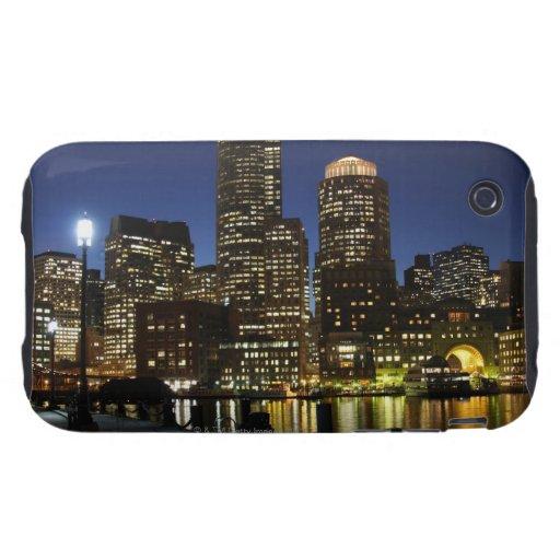 Horizonte de Boston, Massachusetts iPhone 3 Tough Coberturas