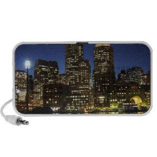 Horizonte de Boston, Massachusetts iPod Altavoces