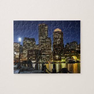 Horizonte de Boston Massachusetts Puzzle