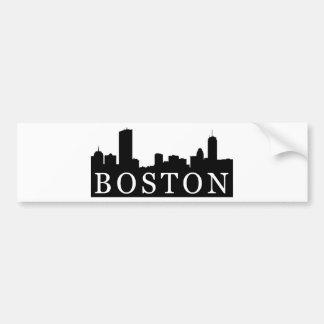 Horizonte de Boston Pegatina Para Auto