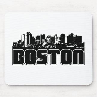Horizonte de Boston Tapetes De Raton