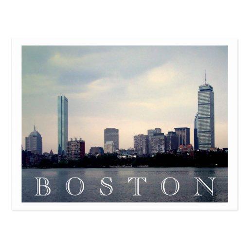 Horizonte de Boston Postales