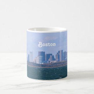 Horizonte de Boston Taza Clásica