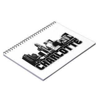 Horizonte de Charlotte Spiral Notebook