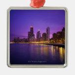 Horizonte de Chicago Adorno De Navidad