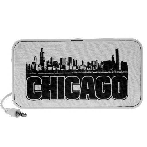 Horizonte de Chicago Altavoces