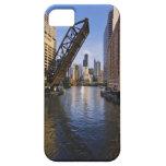 Horizonte de Chicago del puente del St de Kinzie Funda Para iPhone SE/5/5s