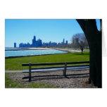 horizonte de Chicago Felicitacion