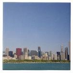 Horizonte de Chicago, Illinois, los E.E.U.U. Azulejos Ceramicos