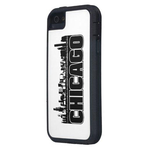 Horizonte de Chicago iPhone 5 Case-Mate Cárcasa