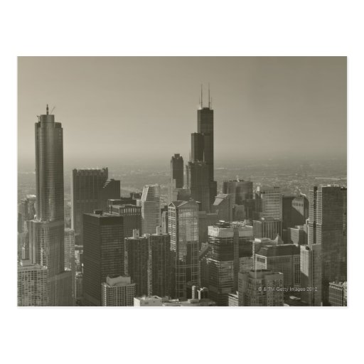 Horizonte de Chicago, Juan Hancock Skydeck de cent Postal