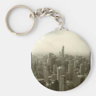 Horizonte de Chicago Llavero Personalizado