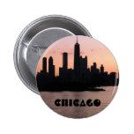 Horizonte de Chicago Pin