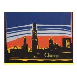 Horizonte de Chicago Postal