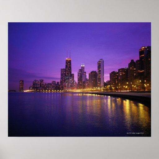 Horizonte de Chicago Póster