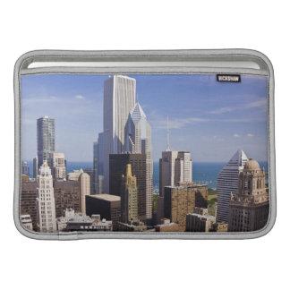 Horizonte de Chicago que mira hacia el lago Michig Funda MacBook